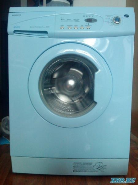 Стиральная машина Samsung S803J Хорошая рабочая стиральная машинка в отличном состоянии.Заменили насос и...
