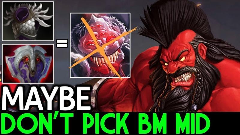 Maybe [Axe] The Reason Don't Pick BM go Mid 7.18 Dota 2