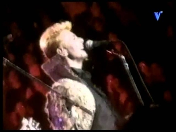 David Bowie and Billy Corgan 1997-01-09 - Madison Square Garden New York City, NY, US