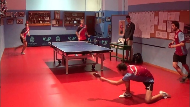 Best Spanish Table Tennis Points 2017