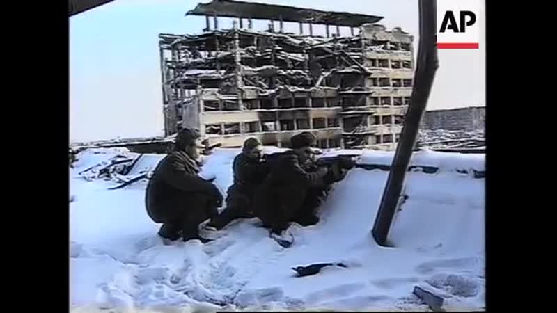 RUSSIA CHECHNYA RUSSIAN TROOPS PREPARE FOR BATTLE