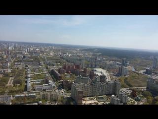 Весь Екатеринбург с высоты 220,4 метра.