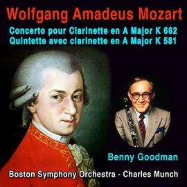 Wolfgang Amadeus Mozart альбом Mozart: Concerto pour Clarinette en A Major, K. 622