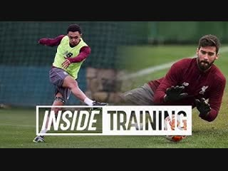 Inside training: 24 goals and 8 top saves from marbella