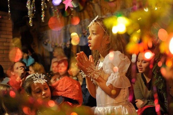Место проведения нового года для детей