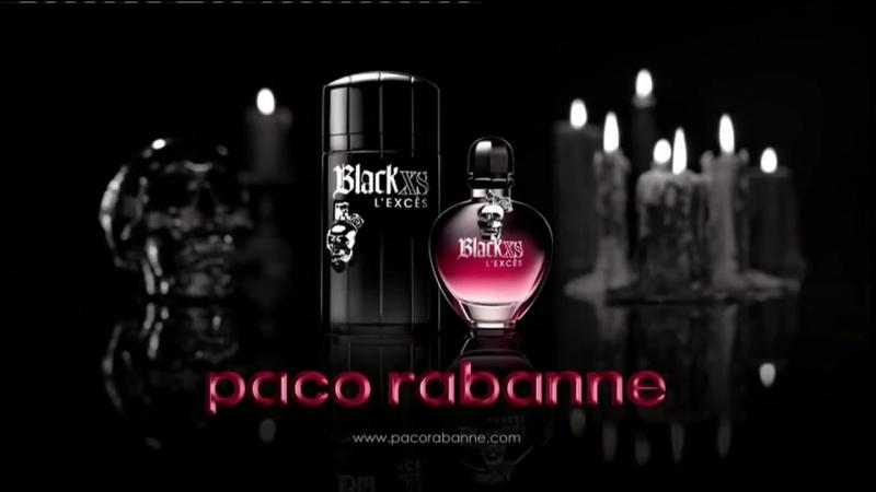 Black XS L´EXCÈS by Paco Rabanne (with Iggy Pop)
