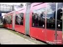 Катаюсь на трамвае в Казани 2017, объявляют остановки на татарском и английском/in a tram in Kazan.