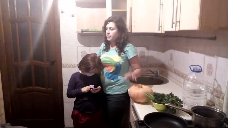 Диетолог Елена Повереннова . Приготовление тыквенного супа
