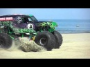 Grave Digger 2011. Monsters on the Beach, Virginia Beach  [HD]