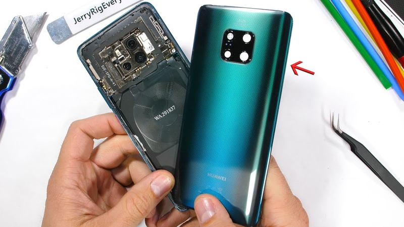 Mate 20 Pro Teardown - Whats under the 'Musical' Back?