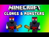 (VanossGaming) Майнкрафт смешные моменты Minecraft Funny Moments - Clone Glitch, Monsters (EPIC Noob Adventures: Clones & Mo