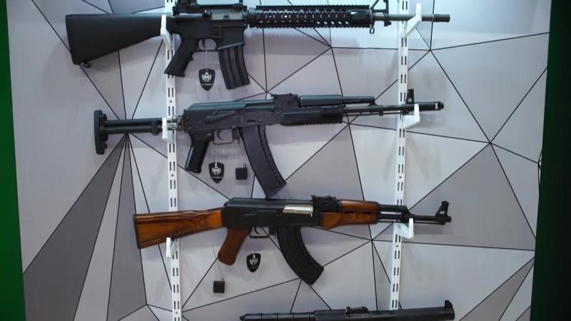 Страйкбольные пулеметы на IWA. Искусство войны. Оружие ТВ