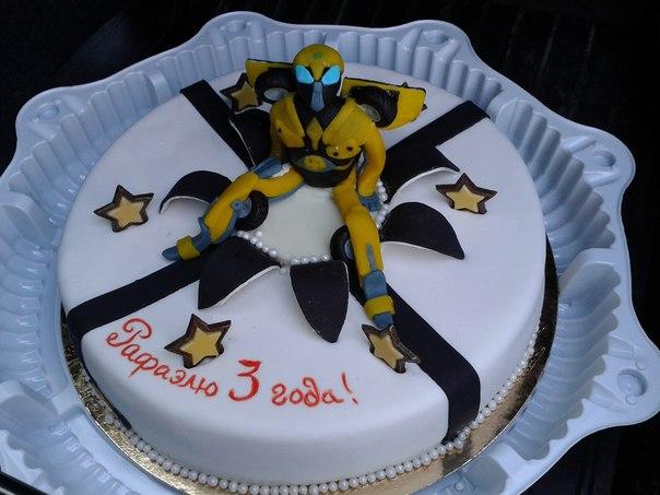 Вот такой торт с трансформером