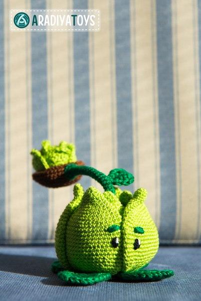 вязаной капусты-катапульты