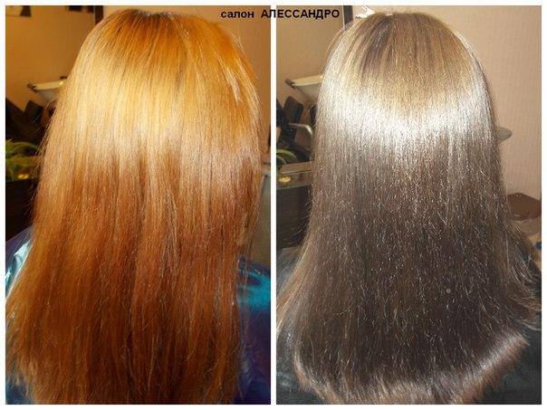 Как избавиться от рыжины на волосах