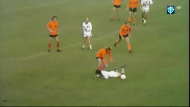 Отборочный матч чемпионата мира 1974. Голландия - Бельгия (обзор)