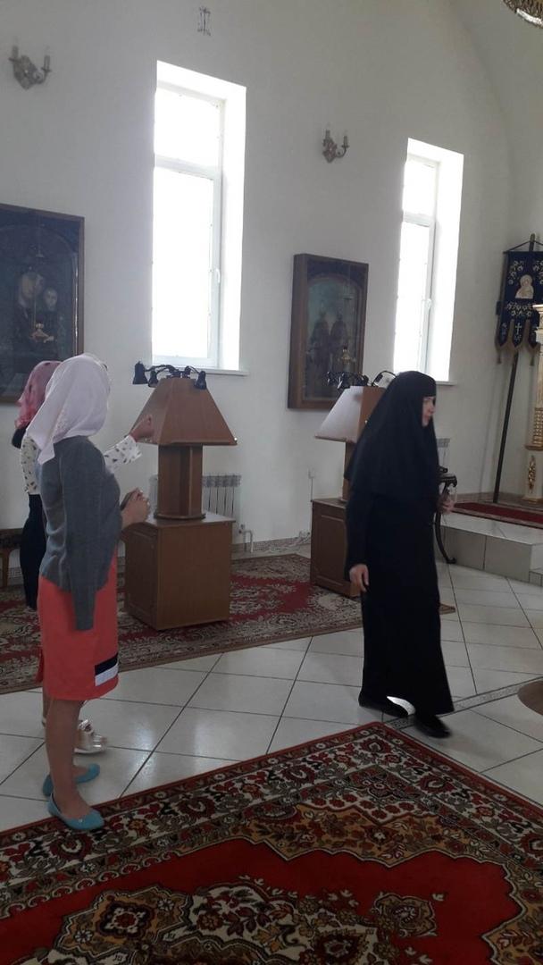 """Дети из """"Волжанки"""" посетили монастырь 5"""