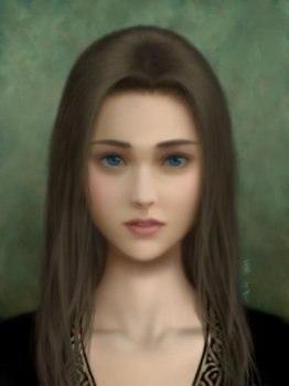 Девушка - иллюзия