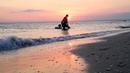 Поселок Штормовое. Закат на пляже - не передать словами