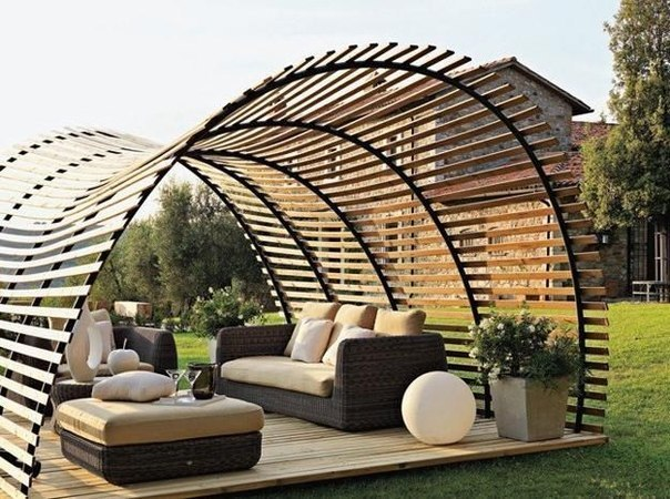 Место для отдыха на даче