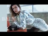 Стильная Мила Йовович в рекламе Balmain