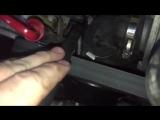 Снятие виско-муфты на Mercedes Benz W140 S500 m119.980