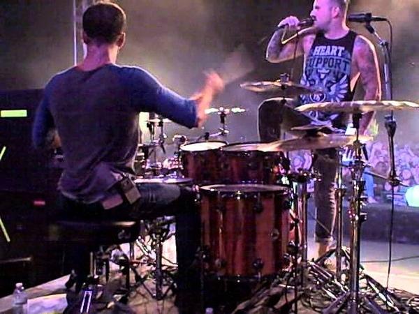 Matt Greiner WHITE WASHED drum cam @ iMatter Festival