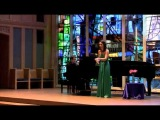 Toni Esker, Masters Recital (3) - Les papillons from Chausson's Sept Melodies
