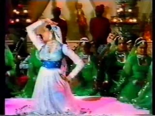 INDIA - SMITA PATIL MUJRA DANCE: 'Tum Salamat Raho' from HINDI FILM: 'GHUNGROO' - 1983