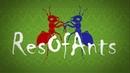 VIDEO x16 Ant wars Муравьиная ферма ResOfAnts Муравьи Ants Night 9