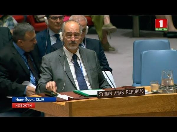 Совбез ООН сегодня рассмотрит ситуацию в сирийской провинции Идлиб