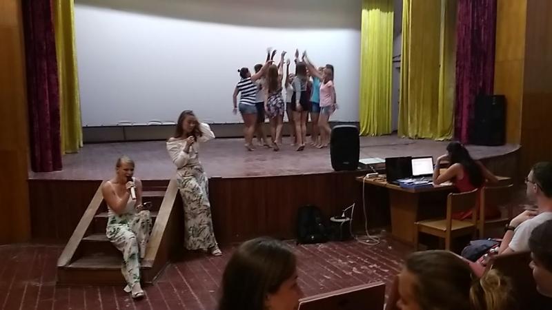 Закрытие 2 смены 2018 Песня танец Ноченька г Саранск