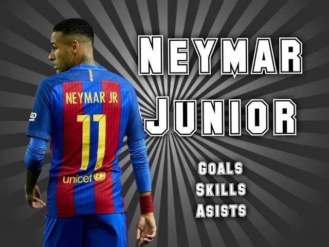 Neymar Jr Goals Skills Asists Неймар Голы Финты Асисты Барселона Barcelona