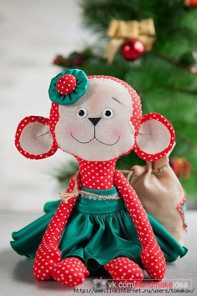 Обезьянка своими руками игрушка