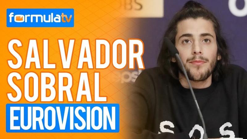 Salvador Sobral habla de los refugiados en la rueda de prensa de finalistas de Eurovisión 2017