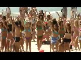 Флешмоб на пляже танцы лучший флеш моб flashmob