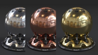 How to make Realistic Gold, Copper and Silver Materials in Corona and 3ds Max