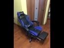 Компьютерное кресло со встроенными Bluetooth динамиками