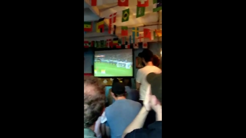 Rob Friends In London Enjoying World Cup's Game (England Vs Colombia), 03.06.2018