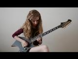 Nevermore - The River Dragon Has Come (solo cover)