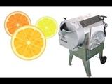 orange lemon slice cutting machine with good shape