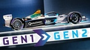 Is This The Best-Looking Race Car Ever? - Gen1 Becomes Gen2 | ABB FIA Formula E Championship