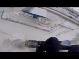 Сноубордист-везунчик