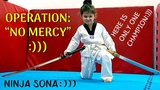 FUNNY KID BEATS DADDY ON HAPKIDO CLASS)))