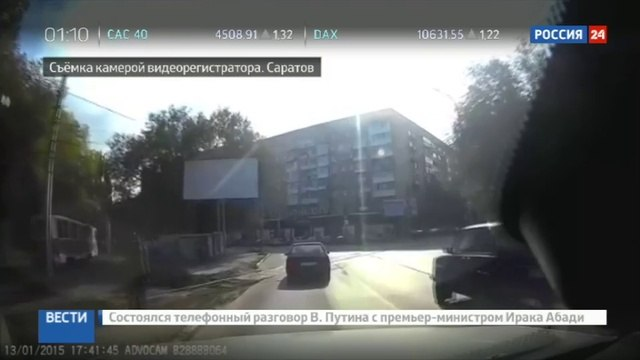 Новости на «Россия 24» • ЧП в Саратове: трамвай протащил по рельсам застрявшего в двери пассажира