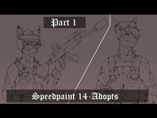 *Speedpaint14-Adopts Part 1