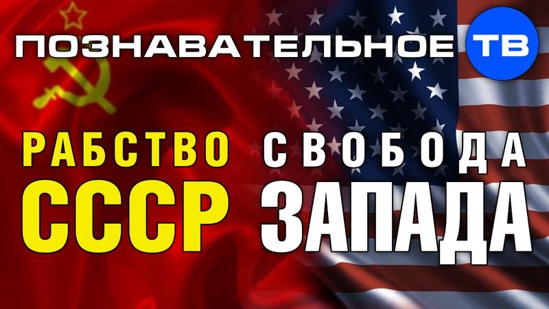 Рабство СССР свобода Запада (Познавательное ТВ, Андрей Фурсов)