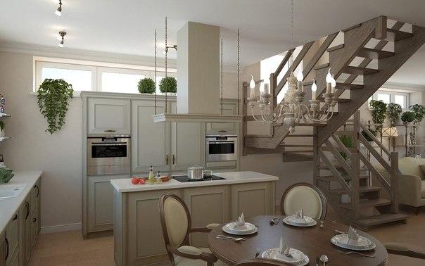 Если вы пропустили : Прованс в Подмосковье: проект дома для семьи из трех человек ❤️