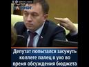 Странный случай на пленарном заседании Государственной думы