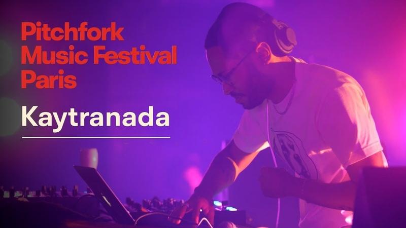 Kaytranada   Pitchfork Music Festival Paris 2018   Full Set